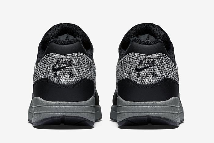 Nike Air Max 1 Essential Knit Black Cool Grey 1