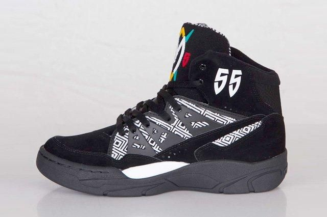 Adidas Mutombo Black White Bump 1