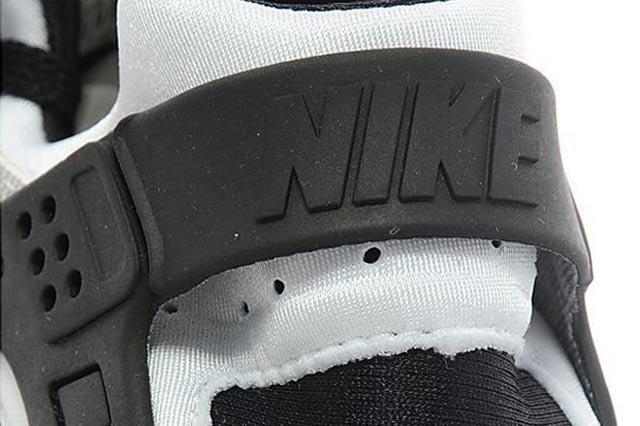 Nike Air Huarache Gs White Black Anthracite 06