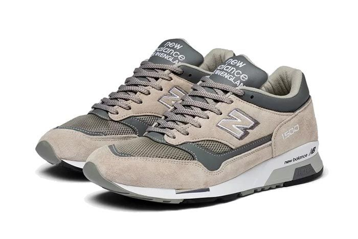 New Balance 1500 Made In England Tan Grey Pair