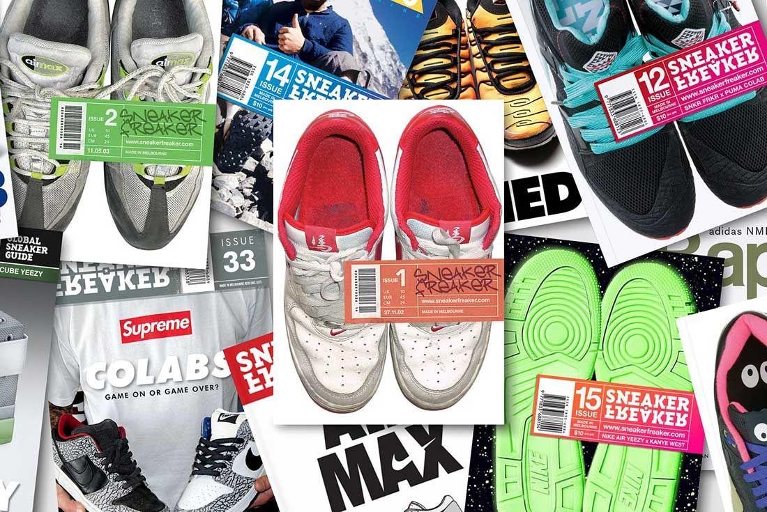 Sneaker Freaker Magazine Covers