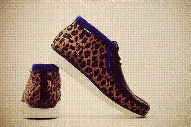 Atmos Clarks Leopard Skin 1