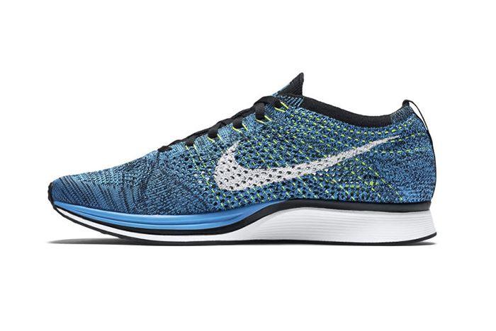 Nike Flyknit Racer Blue Glow 2