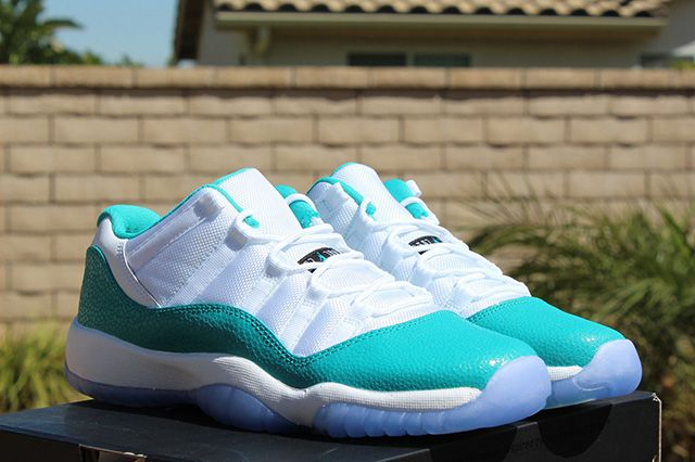 Air Jordan 11 Low Turbo Green 1
