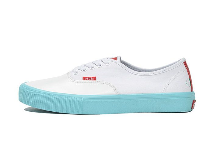 Whimsy Billys Vans Authentic White Left Side