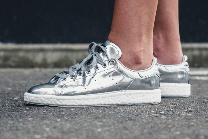 Adidas Stan Smith Boost Silver5