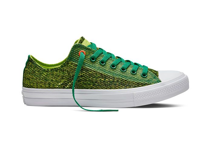 Converse Chuck Taylor All Star Low Open Knit Green 5