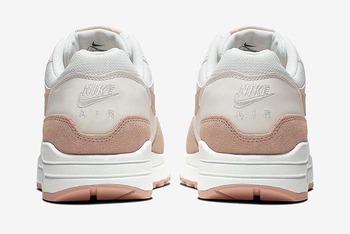 Nike Air Max 1 Sandy Suede 319986 120 Heel Shot