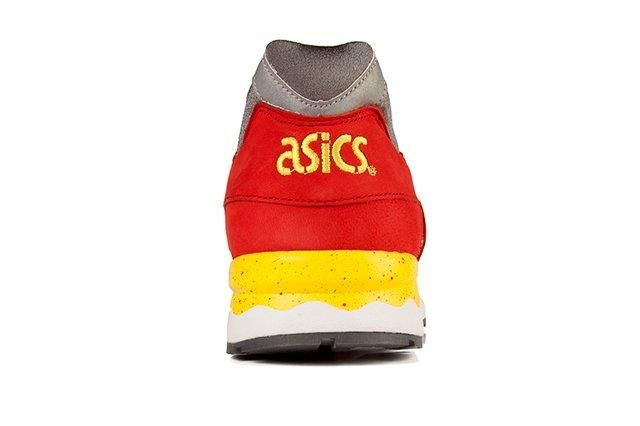 Asics Gel Lyte V Fiery Red Yellow 1