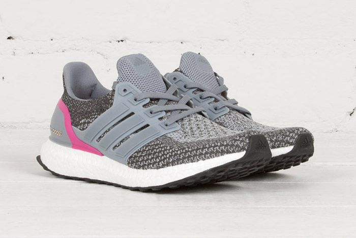 Adidas Ultra Boost Wmns Grey Shocking Pink 3