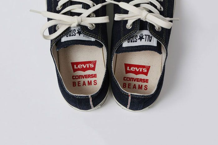 Converse All Star Beams Levis Insole