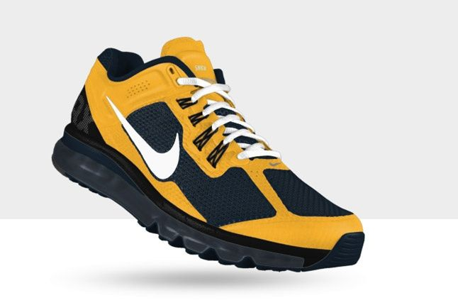 Nikeid Air Max Yellow And Navy 1