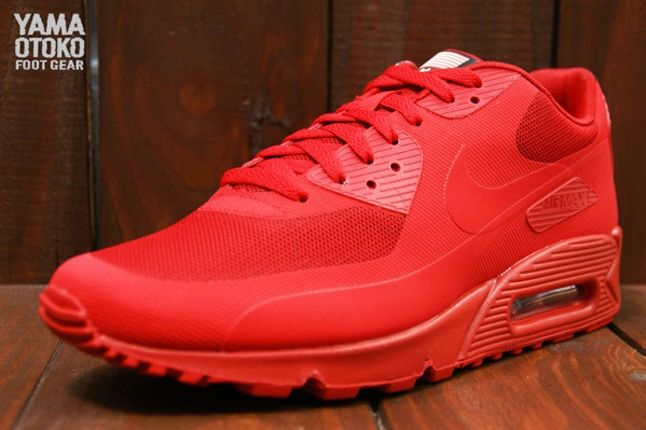 Nike Am90 Hyp 4Thjuly Red Front Quarter 1