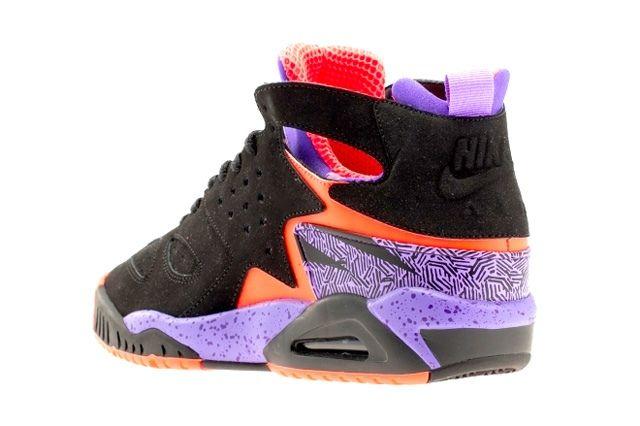 Nike Air Tech Challenge Huarache Atomic Orange Court Purple 2