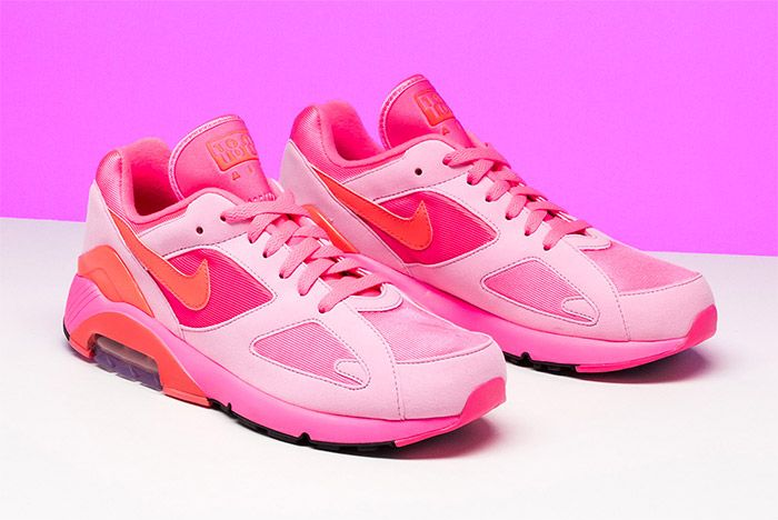 Comme Des Garcons Nike Air 180 Pink 8