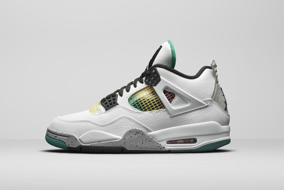 Jordan Brand Summer 2020 Air Jordan 4 Rasta Lateral