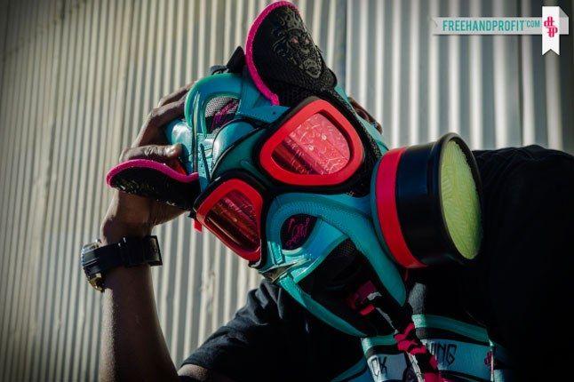 South Beach Lebron James Gas Mask 1
