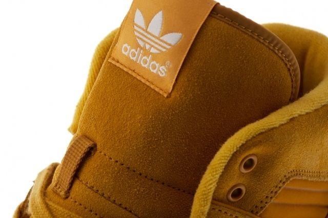 Adidas Originals Rivalry Hi Wheat Tongue