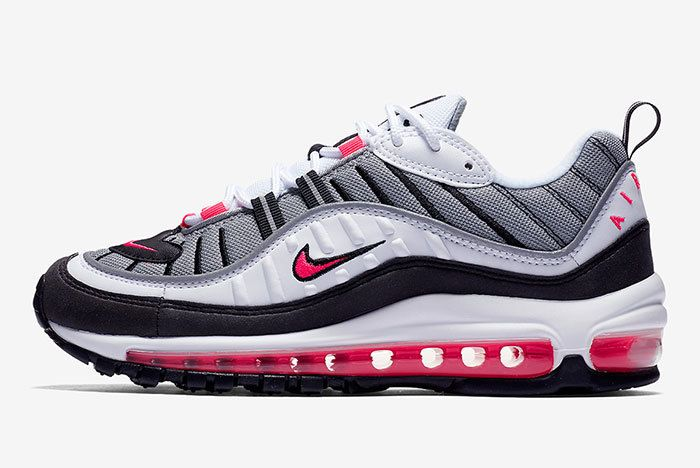 Nike Air Max 98 Solar Red Side