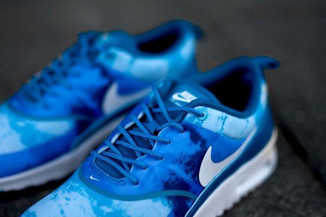 Nike Air Max Thea Print Blue Lacquer 2