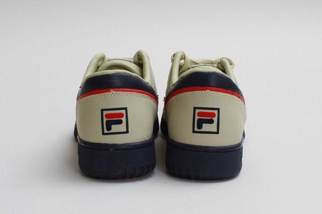 Fila Original Fitness Cream Heel Profile 1