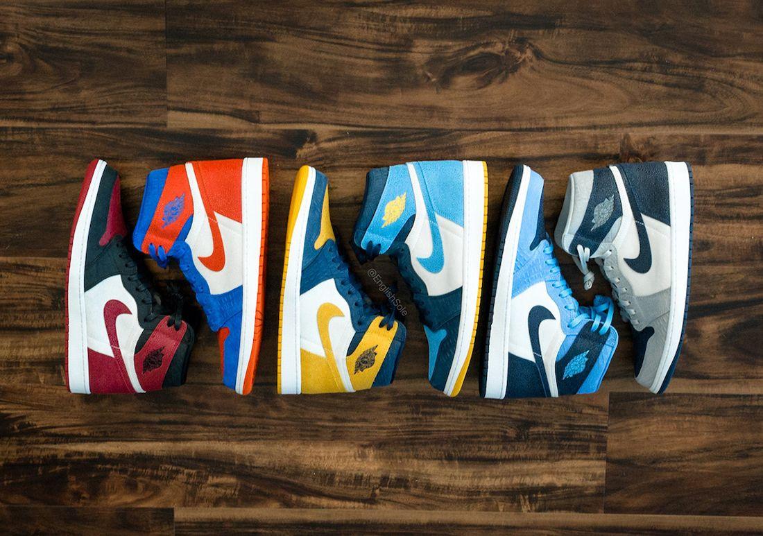 Air Jordan 1 College PE Collection