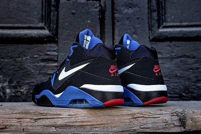 Nike Air Force 180 Black Sport Royal 4