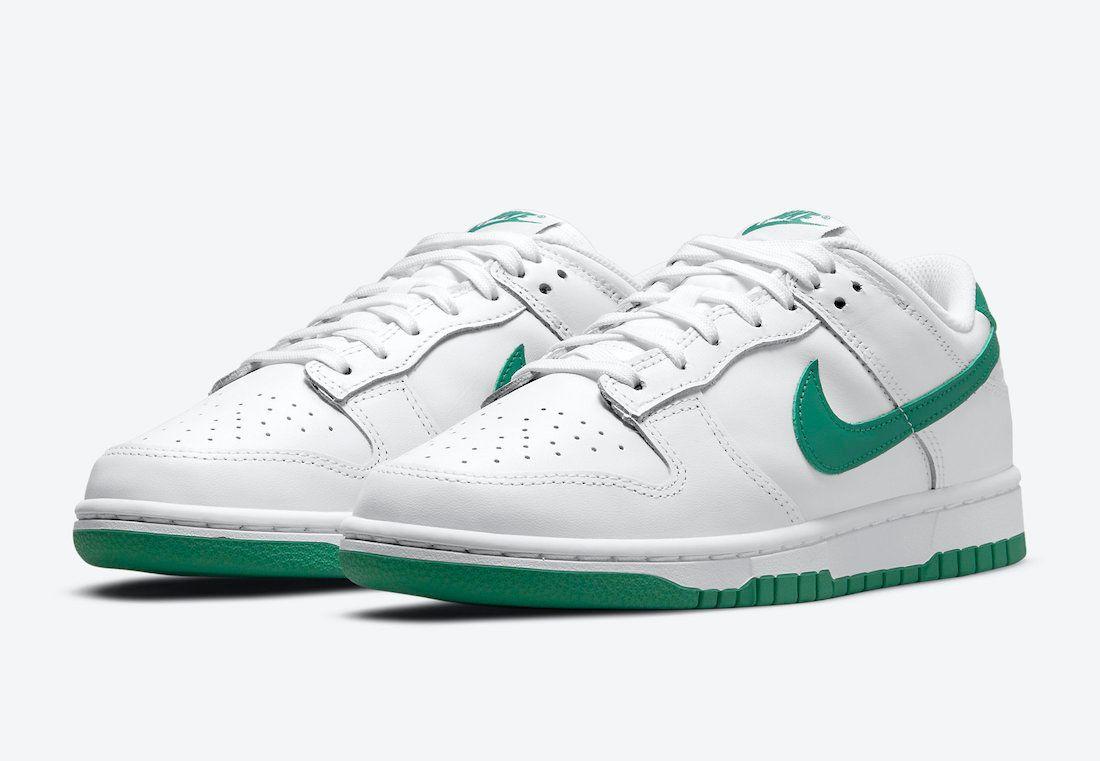 Nike Dunk Low White Green DD1503-112