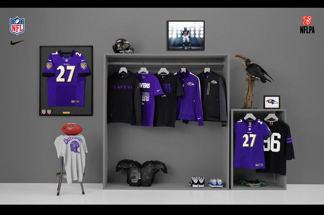 Nike Nfl Fanwear Ravens 1