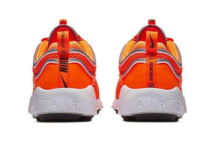 Nike Air Zoom Spiridon Orange 3