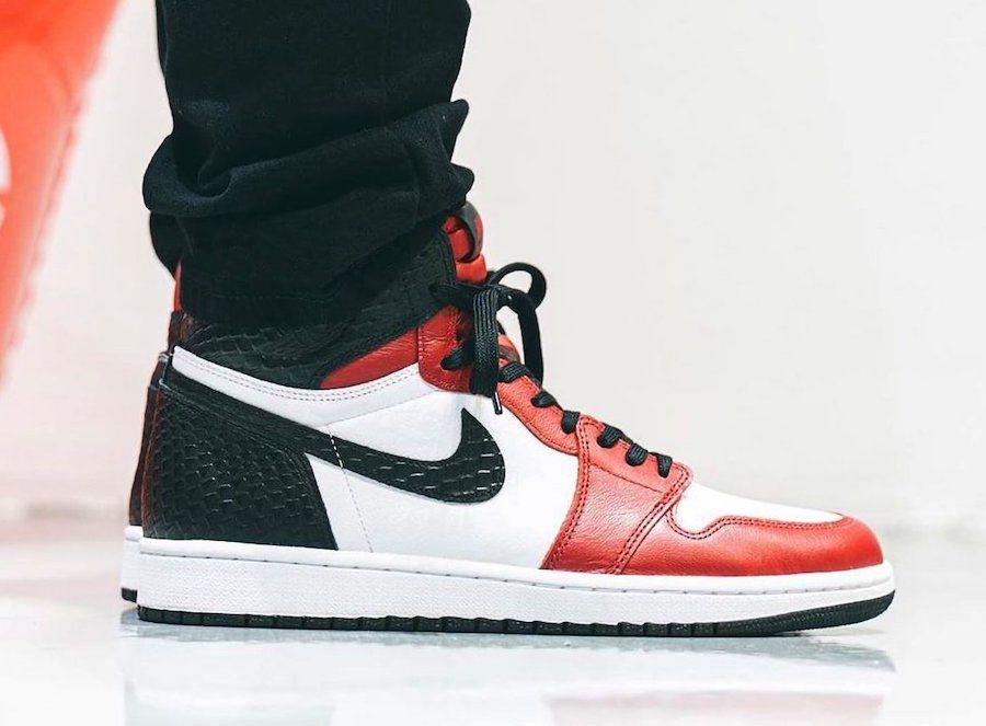 Air Jordan 1 High OG 'Satin Snake'