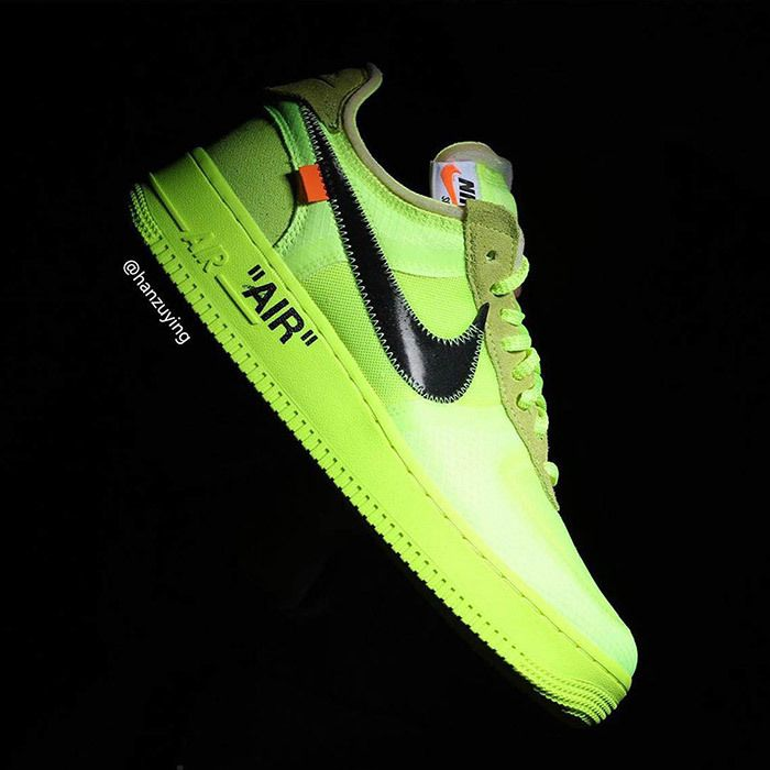 Off White Nike Air Force 1 Low Volt 5