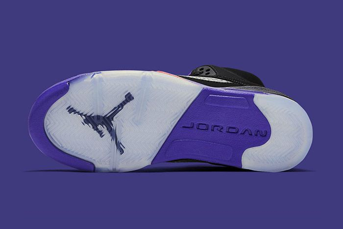 Air Jordan 5 Retro Gs Fierce Purple Raptors 4