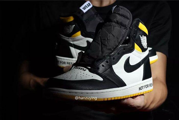 Air Jordan 1 Nrg No Ls Varsity Maize 861428 107 Release Date 11 Sneaker Freaker
