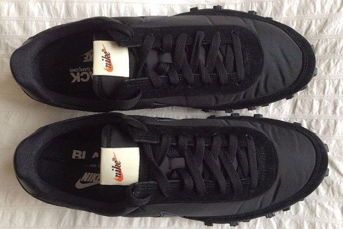 Comme Des Garcons Nike Waffleracer Black 4