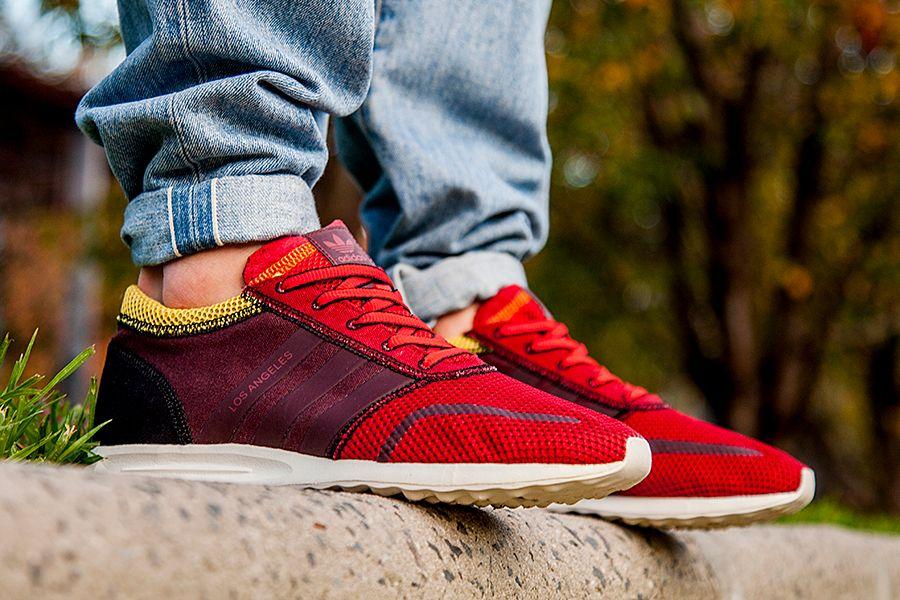 Adidas La Brown Yellow Mens 3