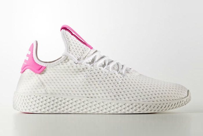 Adidas Pharrell Williams Tennis Hu Pastel Pink 7