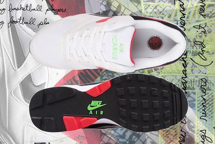 Nike Air Icarus Extra White Red 2