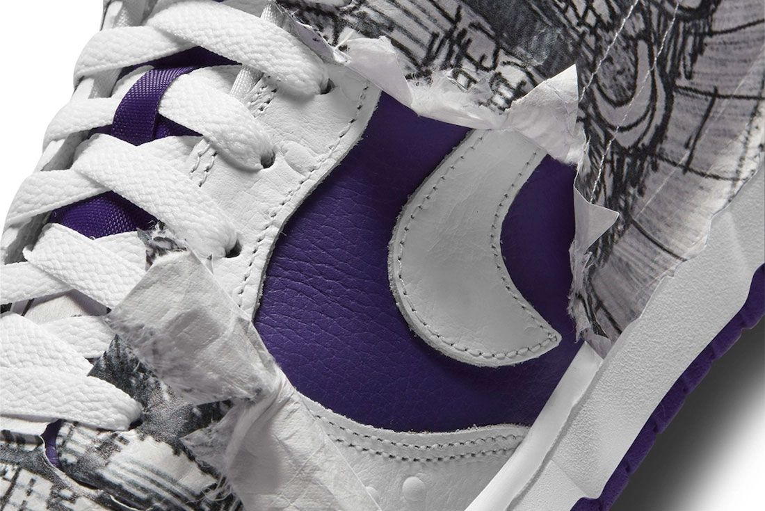Nike Dunk Low Flip the Old School Paper