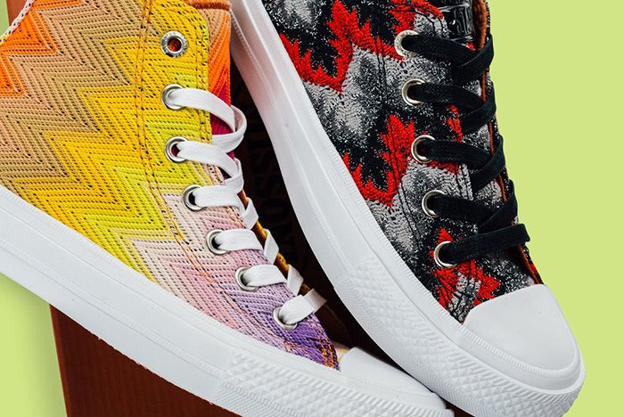 Missoni Converse Taylor All Star Pack 3
