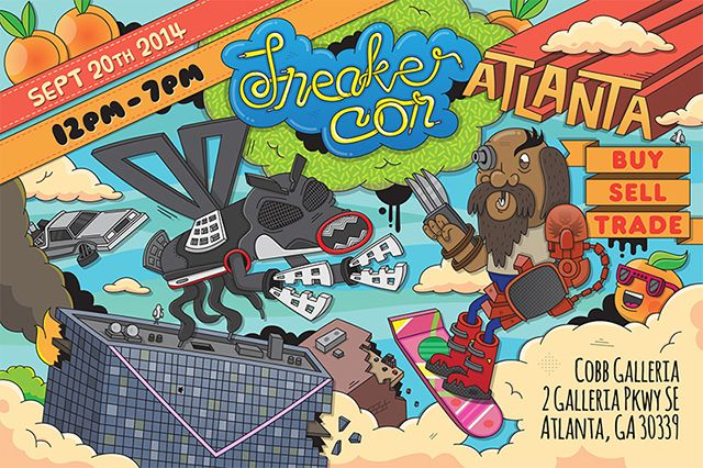 Sneaker Con Upcoming Atlanta Event Info 1