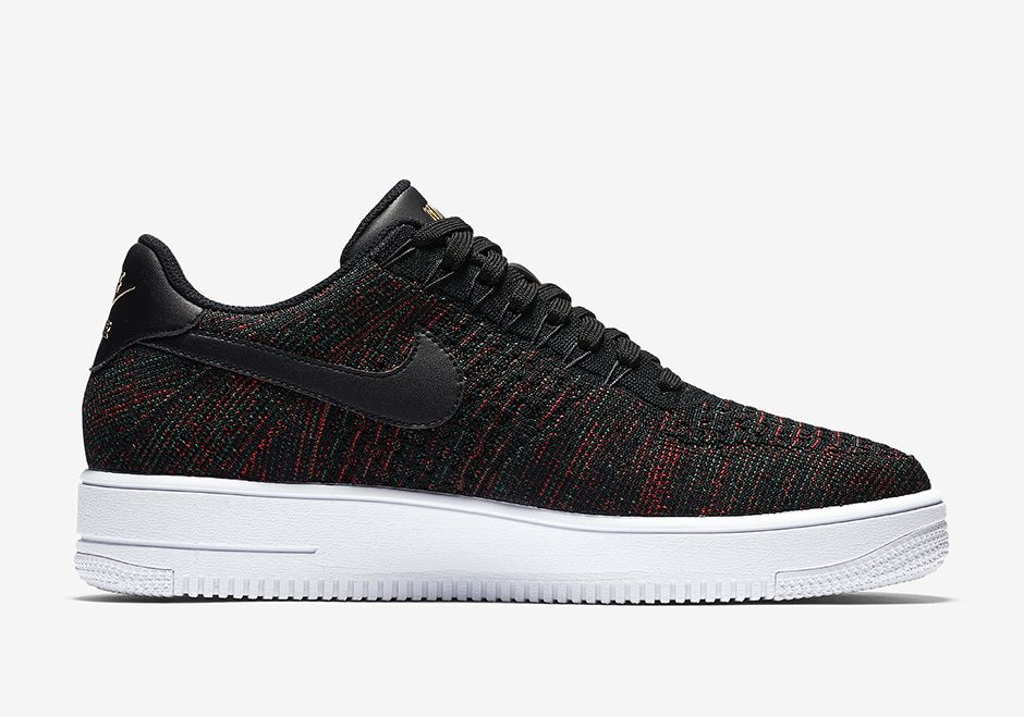 Nike Air Force 1 Low Flyknit Burgundy 817419 005 03