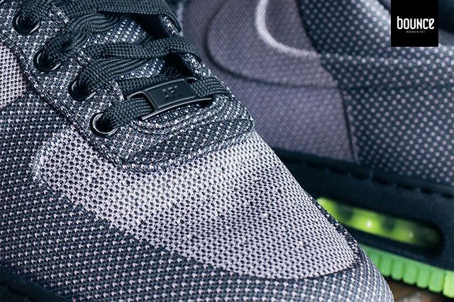 Nike Air Force 1 Vt Jacquard Grey Volt 3