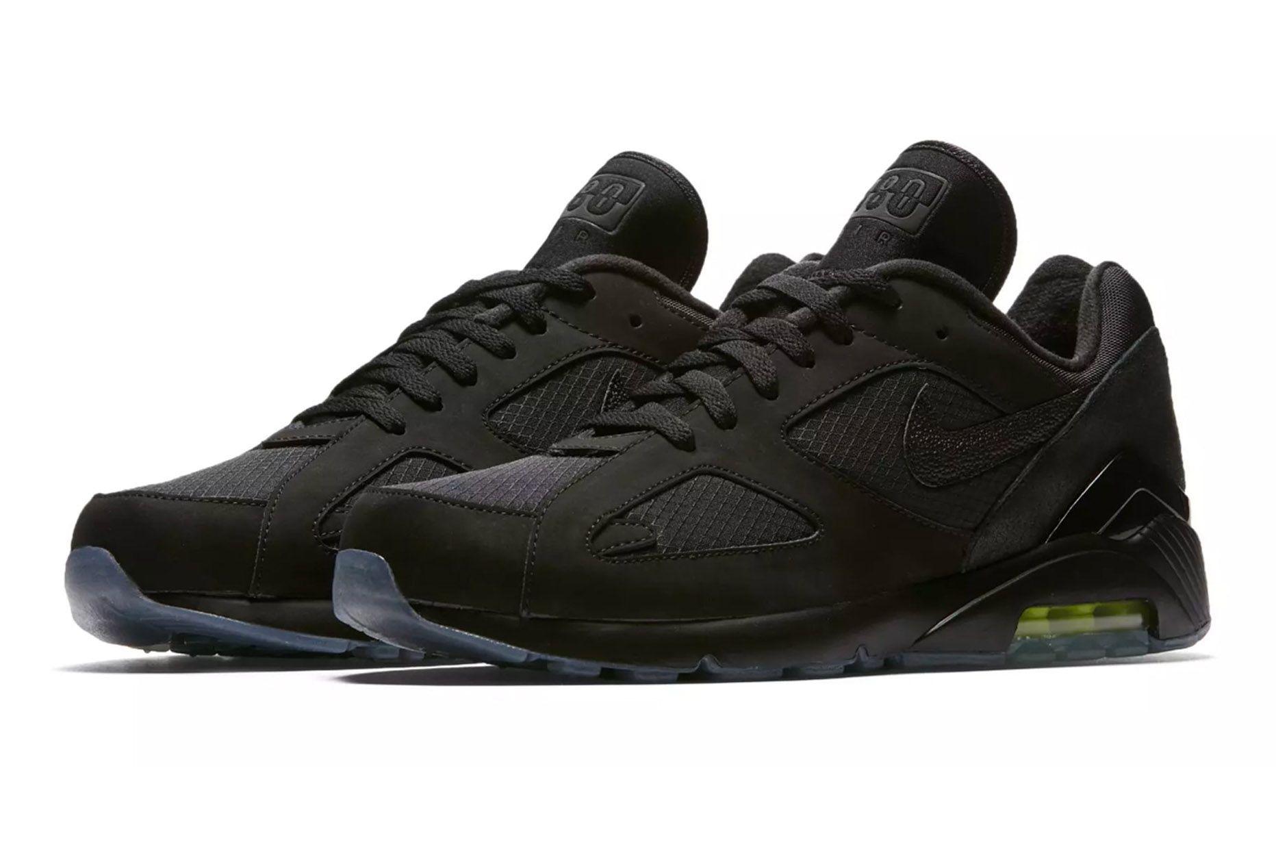 Nike Air Max 180 Black Volt First Look 002 Sneaker Freaker