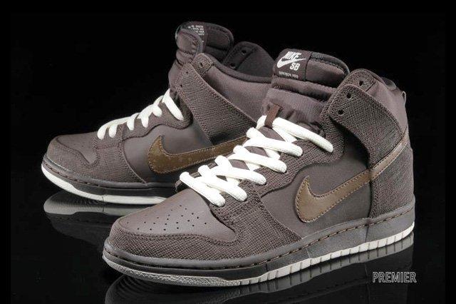 Nikesb Dunk Hi Pro Baroque Brown Dark Khaki 3