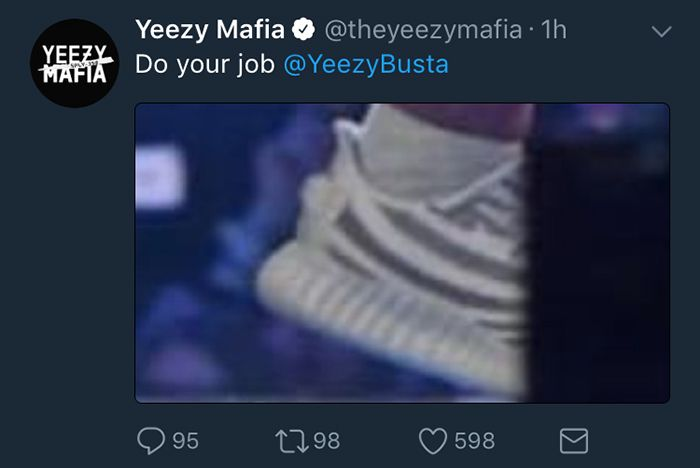 Adidas Stormzy Fakes Yeezy Mafia 4