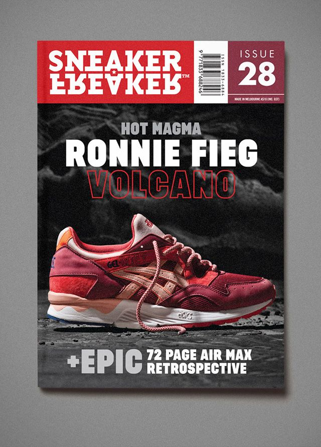Sneaker Freaker Issue 28 Asics Kith Cover