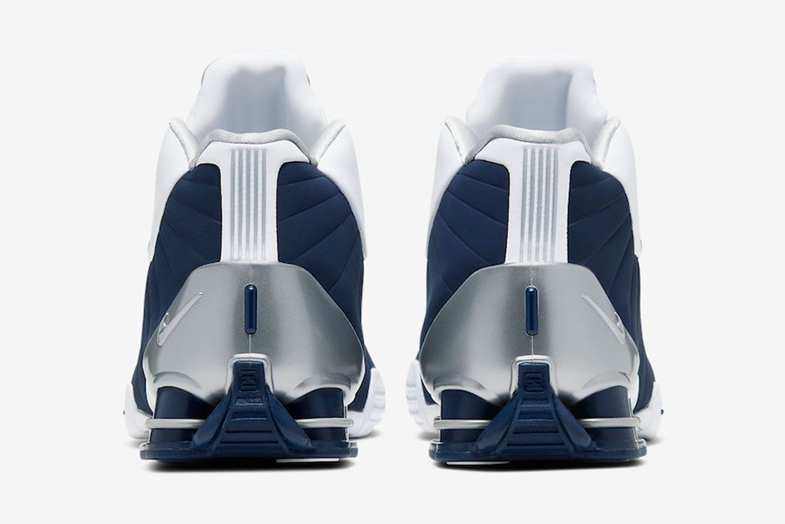 Nike Shox Bb4 Olympic 2019 At7843 100 Release Date 5 Heel
