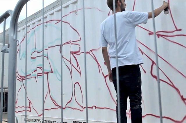 Boxpark Live Graffiti– Sobek Sicks Ha 10