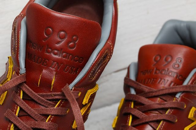 Horween Leather New Balance 998 Pack Bumper 7
